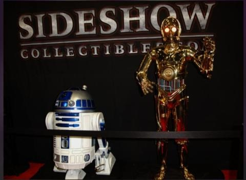 News video: Move Over Artoo: New Star Wars Droid's First Day On The Job