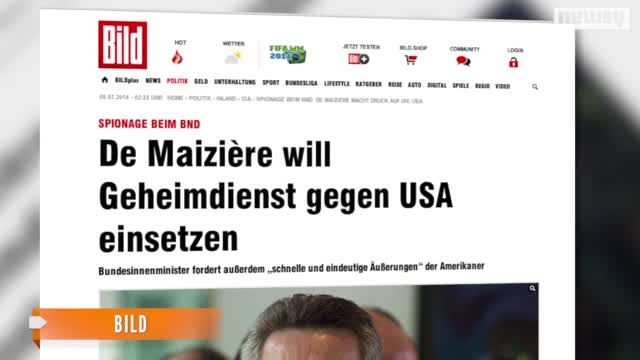 News video: German Intelligence Might Start Spying On U.S. Spies
