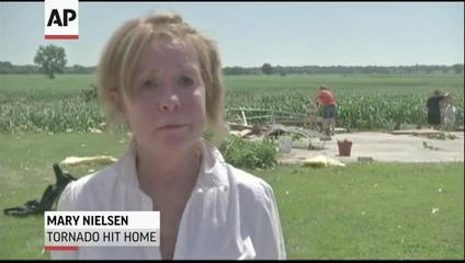 News video: Iowa Cleans Up After Four Tornadoes